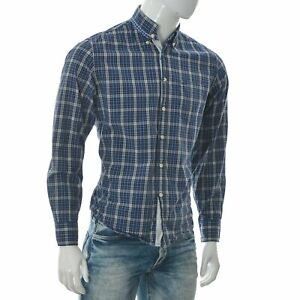 Marc O'Polo Men's Regular Fit One-Pocket Button Down Shirt Long Sleeve Size M