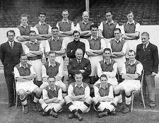 Arsenal Football Team Photo saison 1947-48