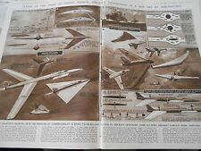 Flying at The speed of sound Radical aircraft conceptions 1946 Print Article