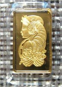 PAMP SWISS 999.9 GOLD BAR 1 GRAM. SEALED IN ASSAY ~ Pamp Suisse Gorgeous