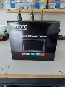 ATOTO 2 Din SA102 Starter Car Stereo,YS102SL CarPlay,Android Auto,Bluetooth,USB