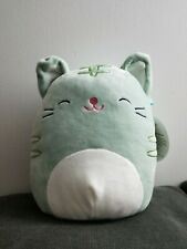 "KellyToy Squishmallow 9"" Tally the Cat Plush Toy super cute soft gift kids"