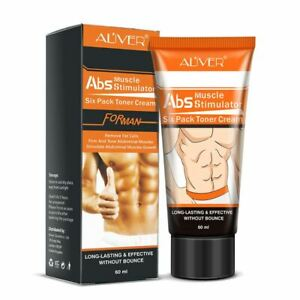 Aliver ABS Muscle Stimulator Six Pack Toner Cream Abdomen Waist Leg Arm Shoulder
