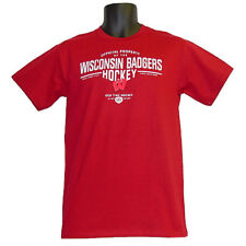 Wisconsin Badgers Old Time Hockey Sanborn Red T-Shirt - Large