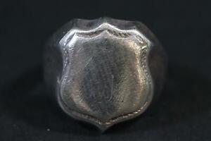 Herrenring Siegelring 925er Silber (CP501)