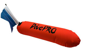 DivePRO Auto-balancing Torpedo Spearfishing Dive Float with speargun holders