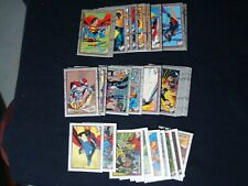 The Return Of Superman Trading Cards 1993 Skybox INCOMPLETE MISSING 14 CARDS