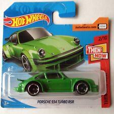 Hot Wheels Porsche 934 Turbo RSR - green
