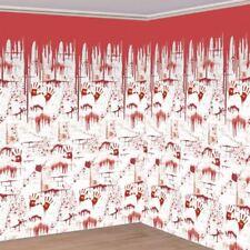 4pk Chop Shop Room Rolls 6m x 1.2m Halloween Blood Splatter Home Decorations