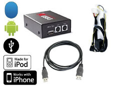 Volvo 00+ USB iPod iPhone Android radio interface. Play MP3 on factory stereo