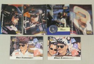 Lot of 6 Pinnacle Speed Flix Trading Cards - Dale Earnhardt, NASCAR