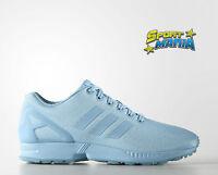 Adidas Zx Flux Celeste Azzurra Donna Scarpe Sportive Sneakers AQ3100
