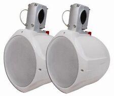 "MCM Custom Audio 60-10020  6 1/2"" Marine Wakeboard Two-Way Speaker Pair - White"