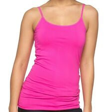 92f75c1f30b383 Apt. 9 Solid Seamless Camisole Fuchsia Flare Pink Women s Size ...