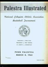 *1965 (Mar. 8) NCAA East Regional college basketball program (Princeton, Prov.)