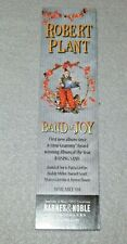 ☆ Very Rare Art Card - Robert Plant - Band Of Joy Bookmark Lp Cd Barnes & Noble