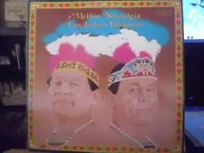 Mellow Nostaglia LP Los Indios Tabajaras LP RCA APL 1-2082  1977