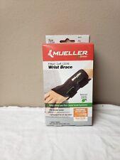 Mueller Green Fitted Left Wrist Brace