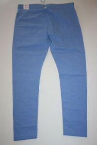 NEW Justice Girls Peri Blue Athletic Full Length Leggings 8 10 12 14 16 18 20 22