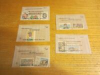 Lot of 10 USA United States Mint Stamps Scott #s 2012-2014, 2016-2018, 2023-2026