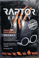 Efface Rayures METAL ALU CHROME INOX RAPTOR EFFECT pour MORGAN PLUS EIGHT