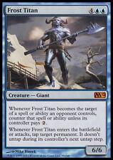 FROST TITAN NM mtg M12 Blue - Creature Giant Mythic