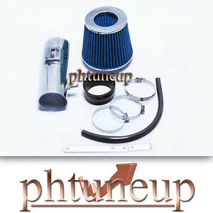 BLACK BLUE AIR INTAKE FIT 12-17 CHEVY TRAVERSE GMC ACADIA BUICK ENCLAVE 3.6L