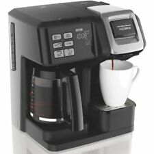 Hamilton Beach 49976 Flex brew 2-Way Brewer Programmable Coffee Maker Black NEW