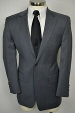(39R) Ralph Lauren Men's Gray Pinstripe Wool Classic Sport Coat Blazer Jacket