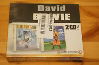 David Bowie 2 CD Boxset Hours Earthling IMPORT Sealed Edition France