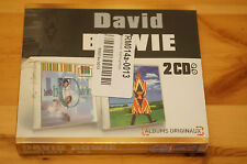Rare David Bowie 2 CD Boxset Hours Earthling IMPORT Sealed Edition France