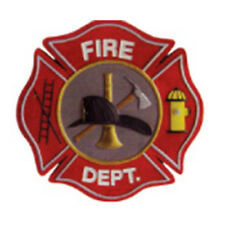 """Wholesale Lot of 12 Fire Department  3"""" Iron On/Sew On Patch FAST USA SHIPPING"""