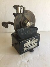 Rare antique metal . U.S. Crank handle Pencil Sharpener Co. 1907