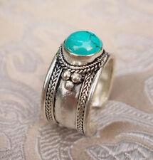 Sehr schöner Silber RING mit Türkis aus Nepal