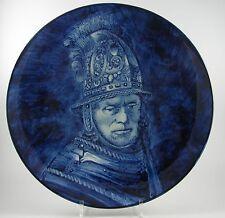 Delft Holland Zierteller nach Rembrandt Der Mann mit dem Goldhelm