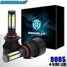 IRONWALLS 9005 HB3 COB LED Headlight Kit 1400W 210000LM 6000K 4 sides Bulbs