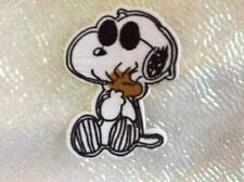 Embroidered Snoopy & Woodstock Patch. Iron or Sew UK Seller