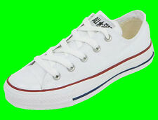 Converse Junior Ct Chuck Taylor All Star Ox Trainers Optical White Kids 13
