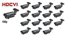 16PCS HDCVI 1080P Outdoor IR Bullet Camera 2MP Varifocal 2.8~12mm Lens BNC Black