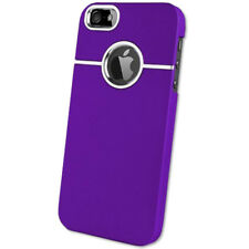 For iPhone 5S 5 SE Stylish Dual Matte Finish Hard Chrome Armour Case Cover Skin