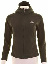THE NORTH FACE Womens Fleece Hoodie Sweater Size 10 Small Black Polyester  A006