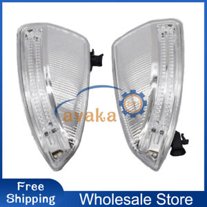 New A Pair Door Mirror Turn Signal Lamps 1649061300/400 For MB ML GL W164 09-10
