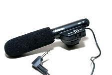 Hama 46116 RMZ-16 Zoom Electronic Richtmikrofon mit Windschutz (sehr gut)