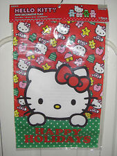 """New listing #3 Hello Kitty Happy Holidays Garden Mini Flag 12"""" X 18"""" New in Package"""