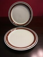 "Set Of 2 Yamaka Japan Contemporary Chateau Stoneware 10.25"" Dinner Plates...."
