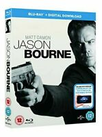Jason Bourne (Blu-ray + Digital Download) [2016] [DVD][Region 2] NEW gift idea