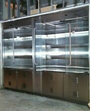 Display Case merchandiser Refrigerated reach in refrigerator Glass door cooler