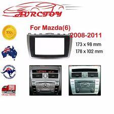 For Mazda 6 car stereo radio Double 2 Din fascia dash panel facia kit trim OZ
