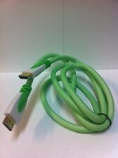 Brand NEW Green 3ft 3D Ready HDMI Cable Rev. 1.4b for HDTV, XBOX, PS3, PS4, DVD