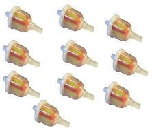 10 X Pequeño en línea de piezas de coche Universal Filtro De Combustible Diesel 6mm Tubo Manguera Automático
